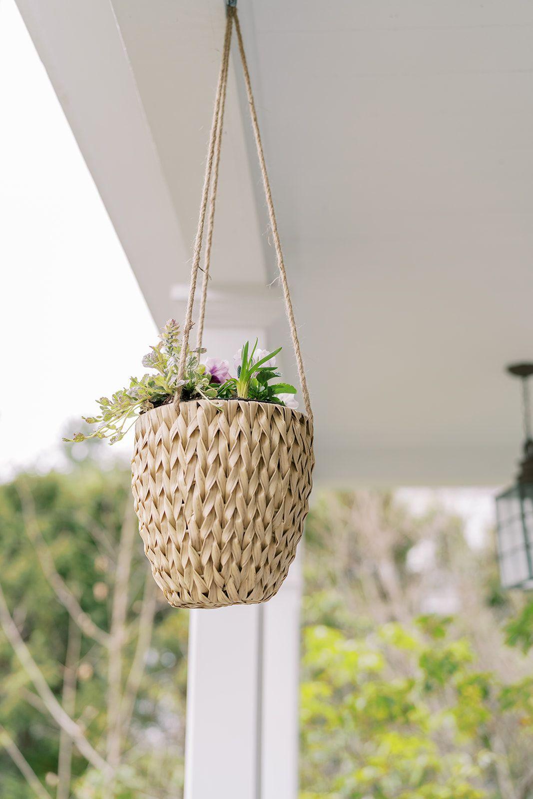 hanging baskets