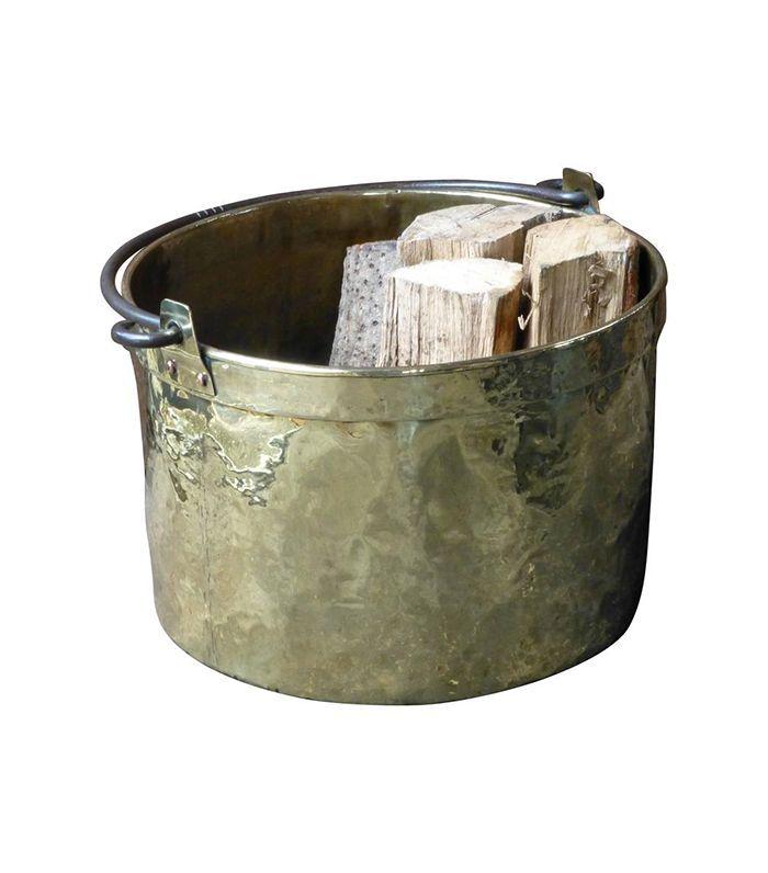1stDibs 18th Century Dutch Log Basket or Log Holder