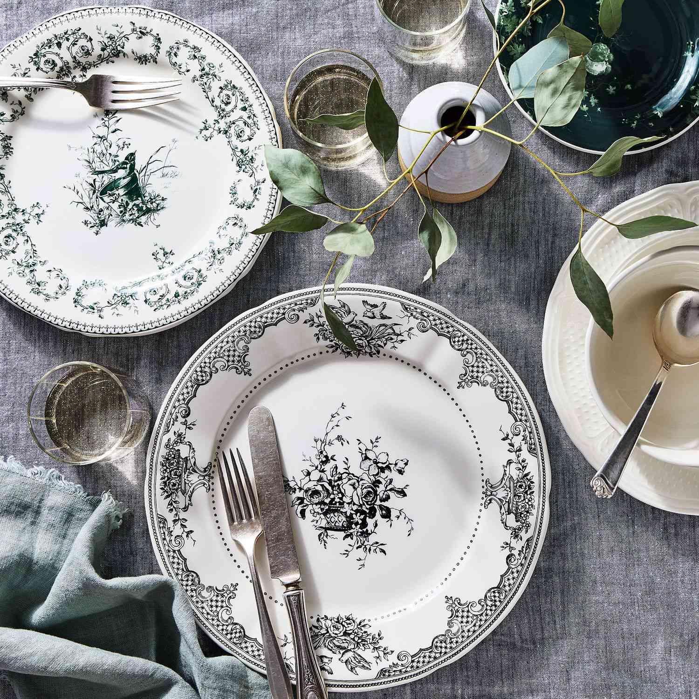 Gien Les Dépareillées Vintage-Inspired French Dinnerware