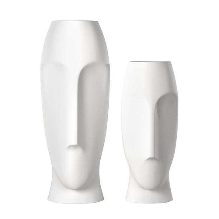 Moai Abstract Vase