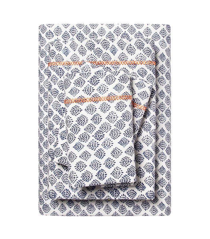 Target Cotton Percale Print Sheet Set