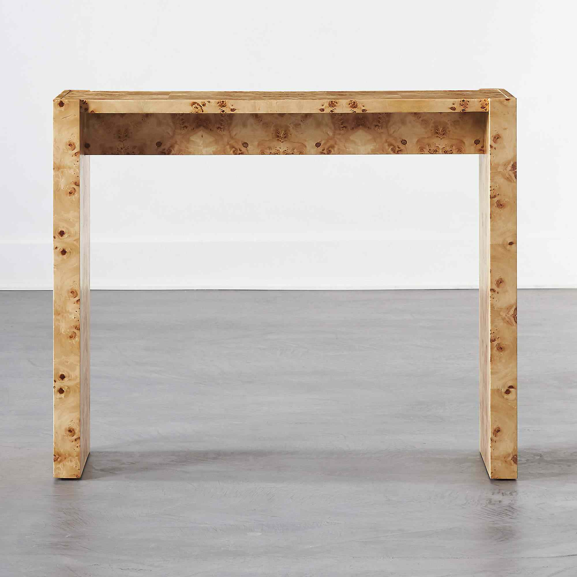 Niche Burl Wood Coffee Table