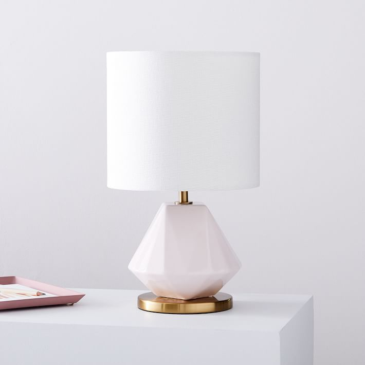 faceted lamp
