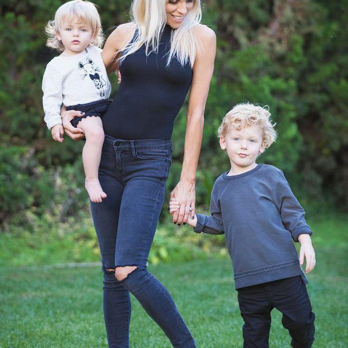 Lauren Kleban y niños