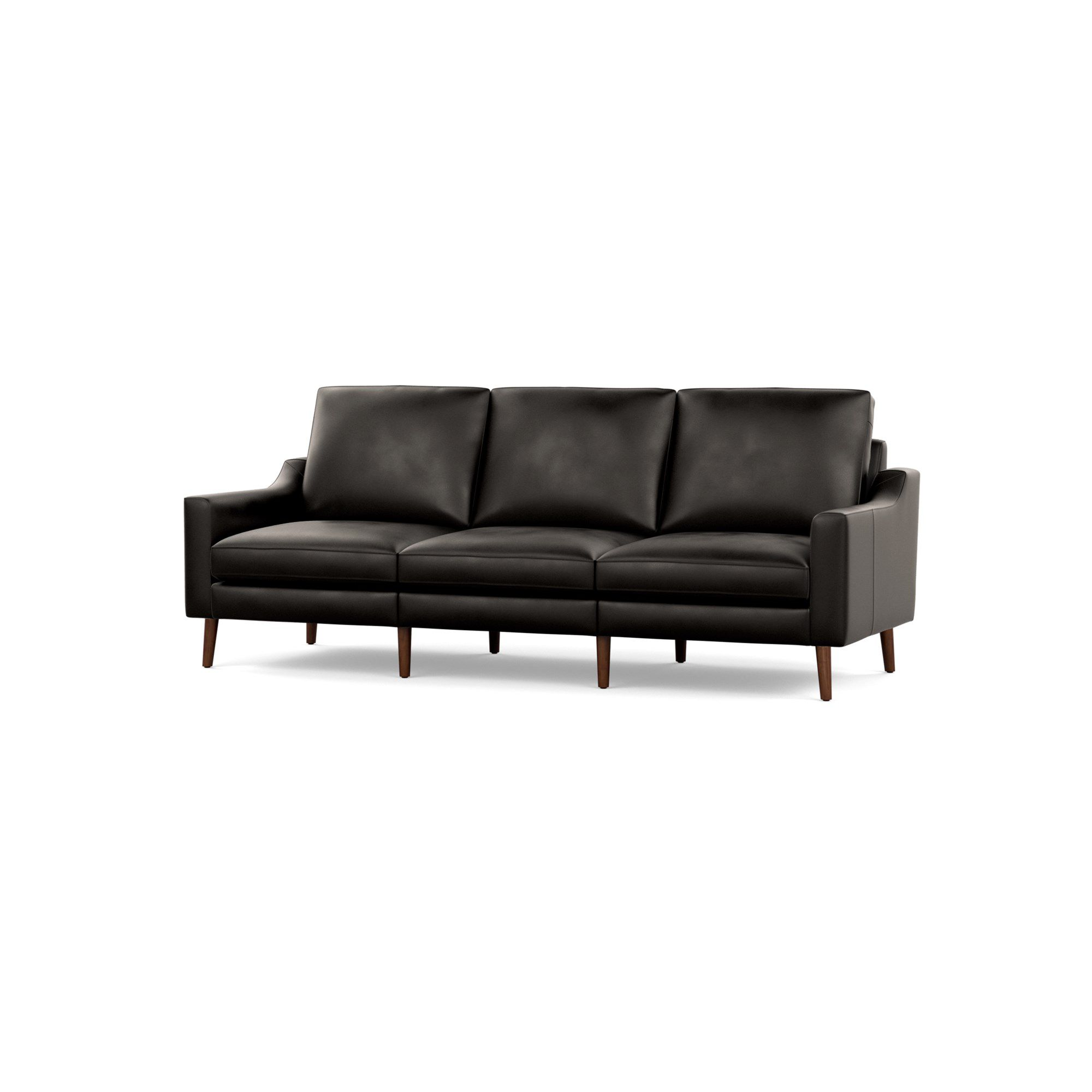 Superb The Affordable New Leather Sofa From Burrow Ibusinesslaw Wood Chair Design Ideas Ibusinesslaworg