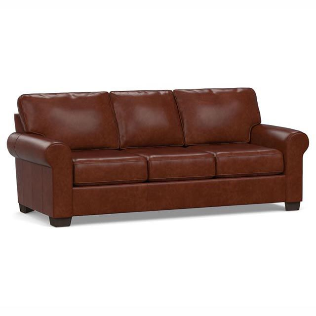 The 10 Best Leather Sofas Of 2021