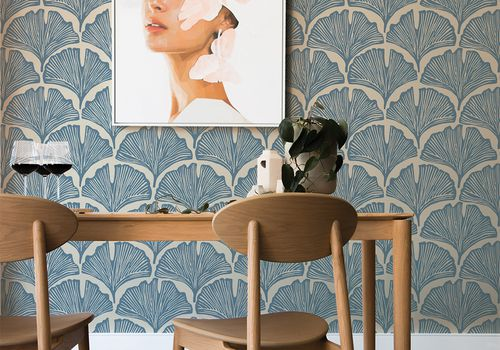 feather palm wallpaper waverly collection