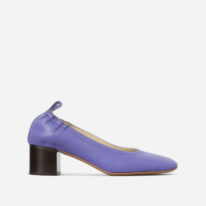 Women's Pump Heel by Everlane in Violet Stacked, Size 11