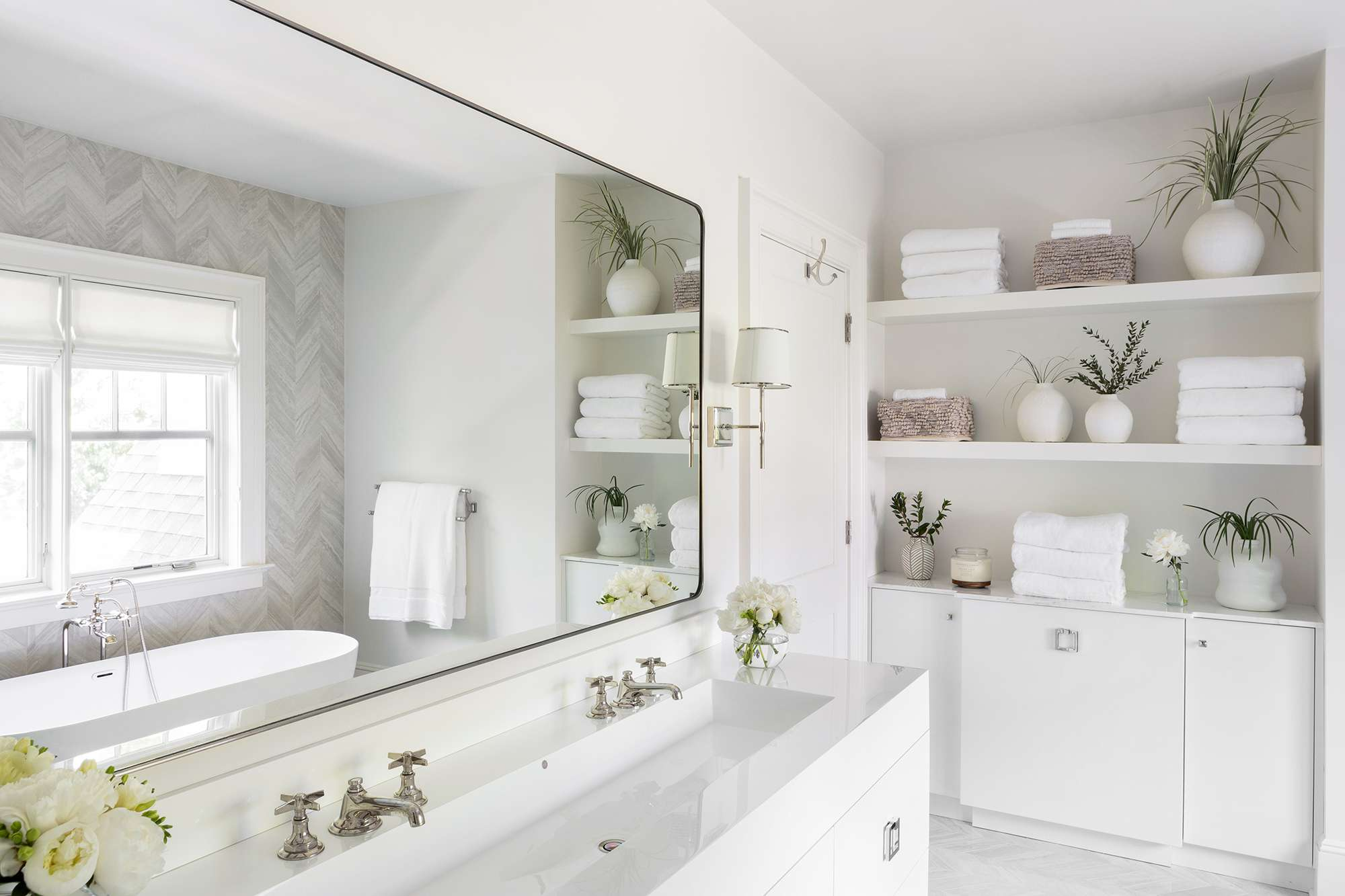 new jersey home tour - master bathroom