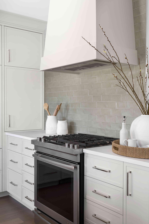 Gossamer Veil kitchen cabinets
