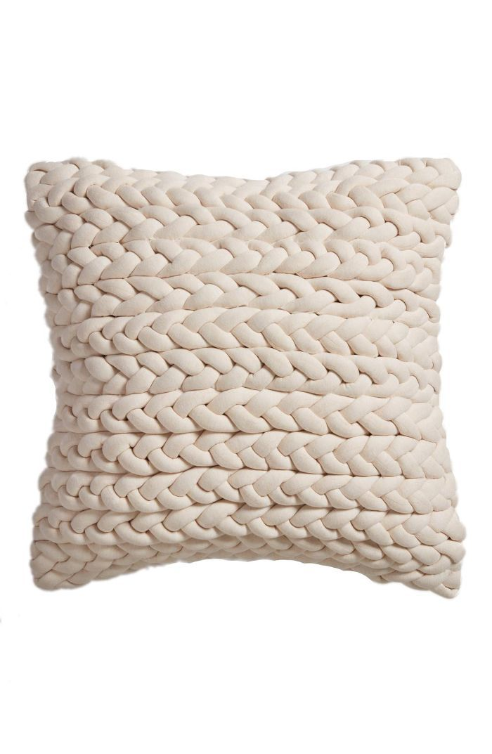 Jersey Braid Accent Pillow