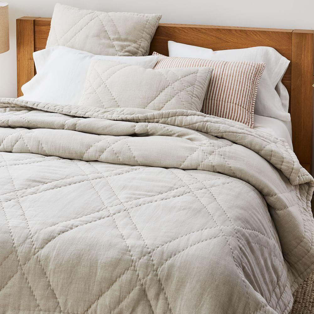 European Flax Linen Comforter & Shams