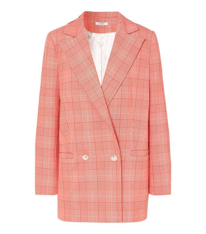 Checked Cady Blazer