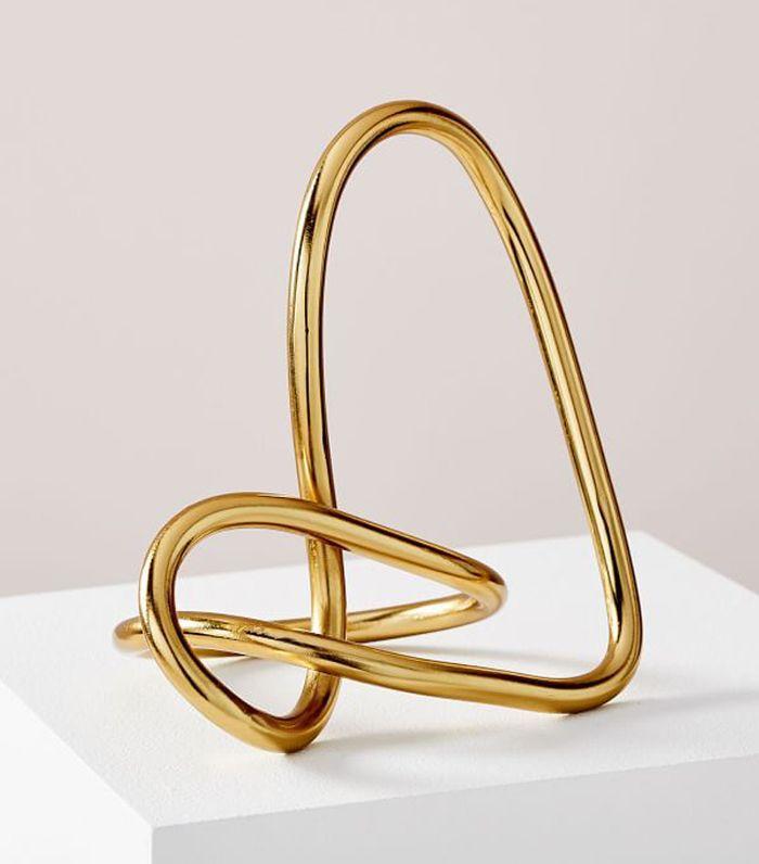West Elm Metal Loop Object