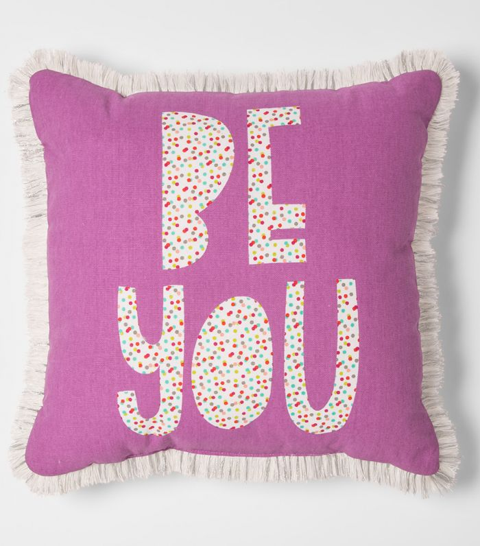 Pillowfort Be You Throw Pillow