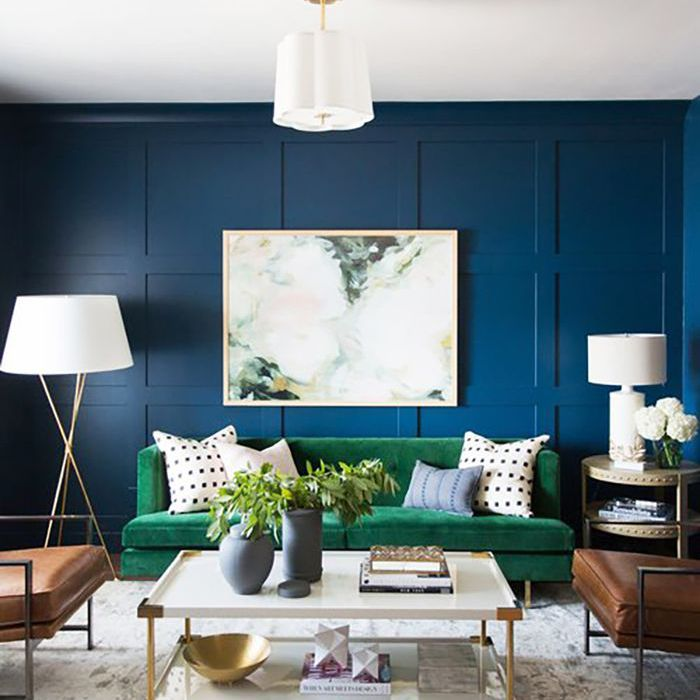 10 transformative small living room paint colors - Small living room colors ...
