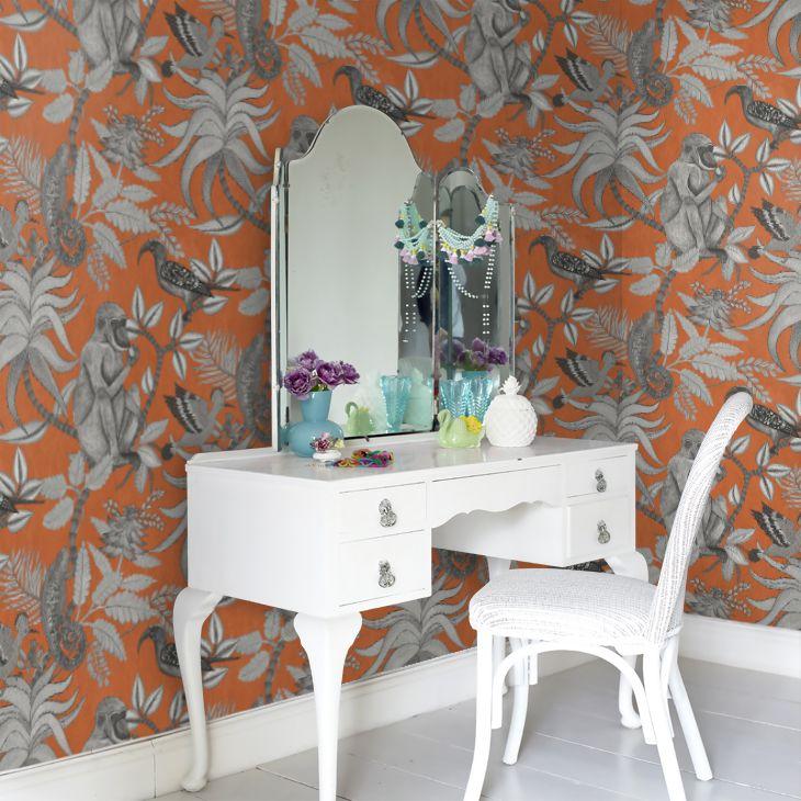 savuti orange wallpaper