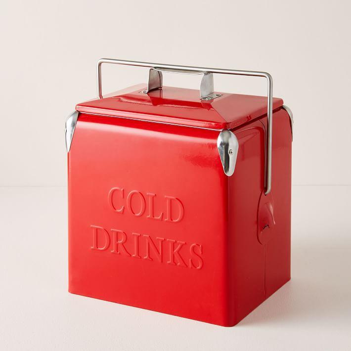 Vintage-Style Cooler