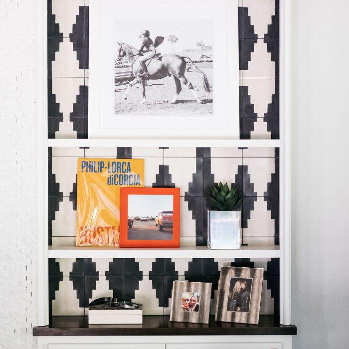 Trish y Billy Ray Cyrus: diseño de sala de estar