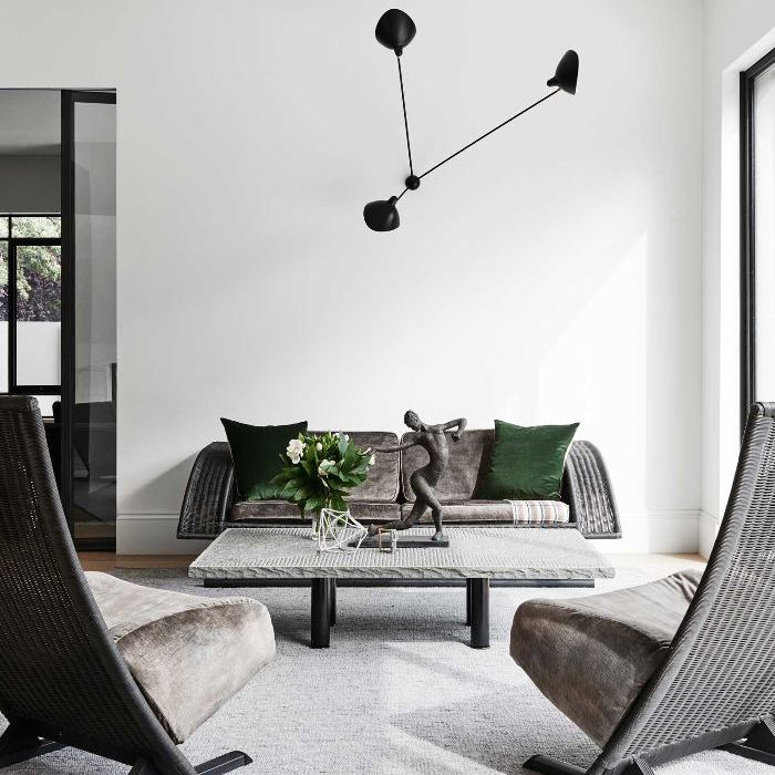 15 Gray Living Rooms That Make a Striking Statement