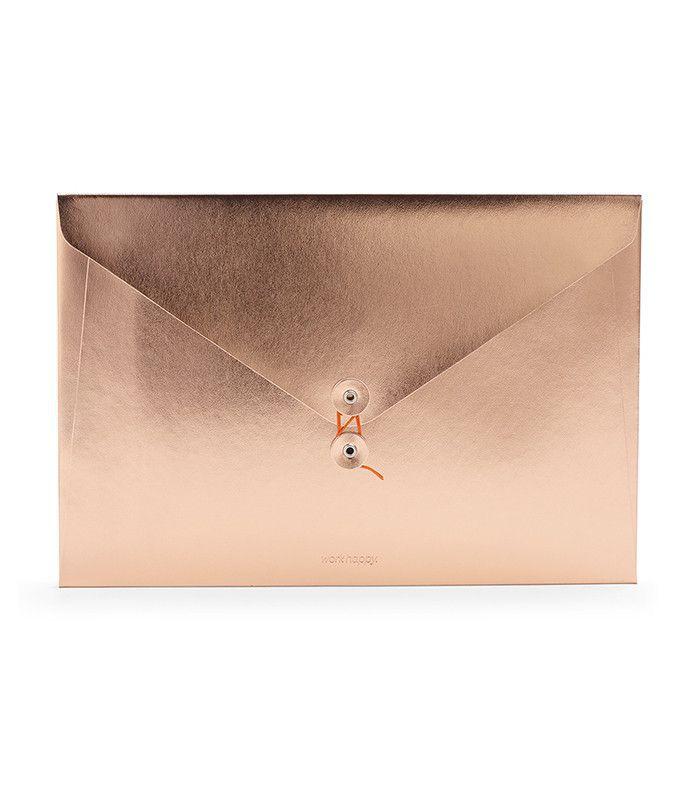 Poppin Copper Soft Cover Folio