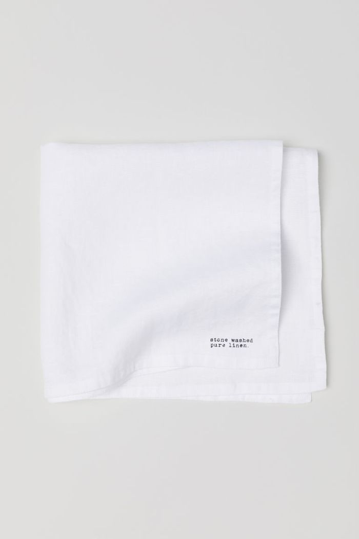 H&M Washed Linen Napkin