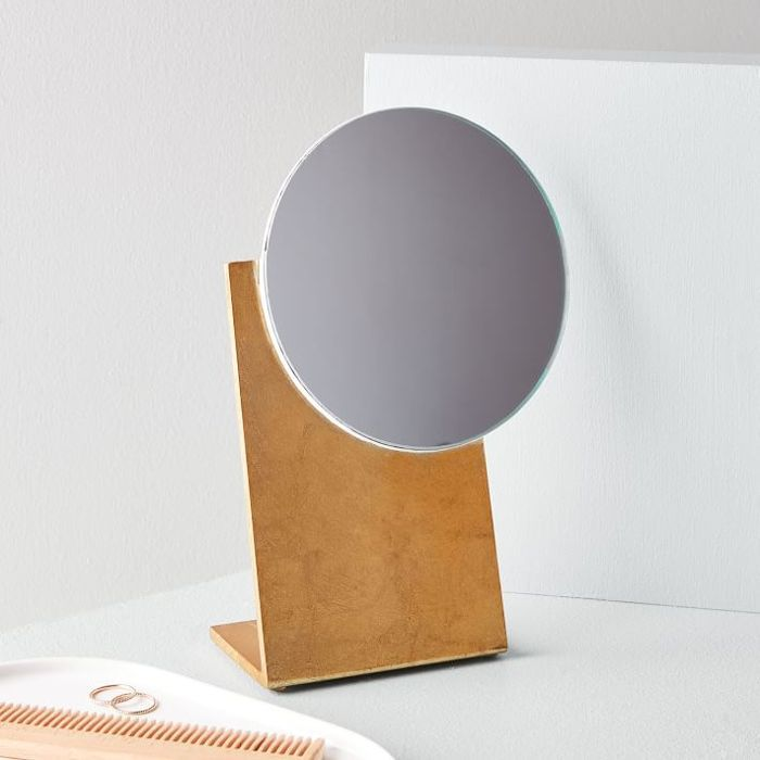 West Elm Luxe Lacquer Vanity Mirror
