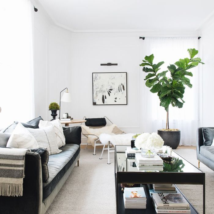 small living room ideas—The Everygirl Home Tour
