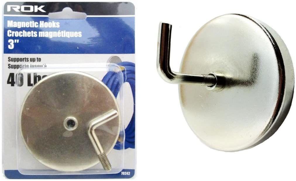 ganchos magnéticos de resistencia industrial