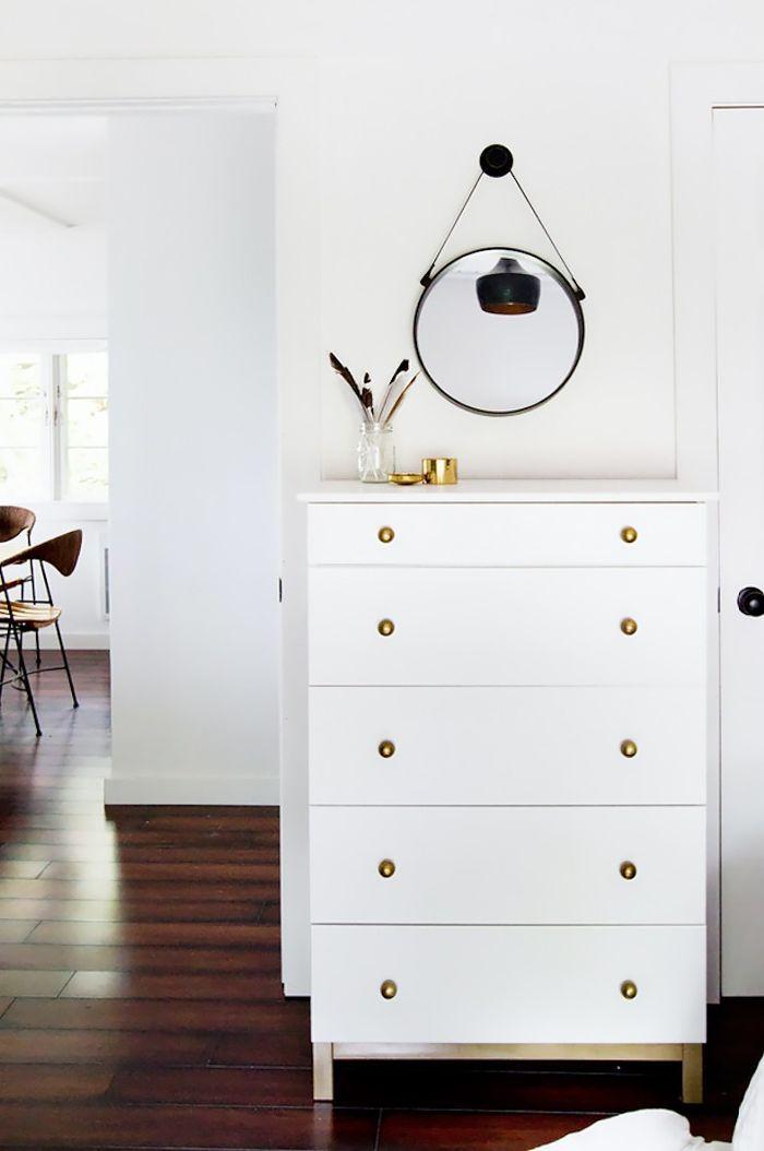 Dresser With Brass Details