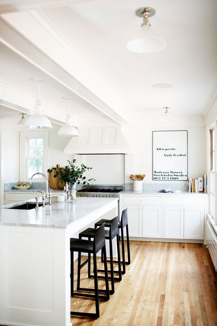 kitchen in renovated Seattle home