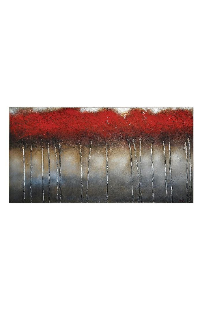 Renwil Crimson Canvas Wall Art