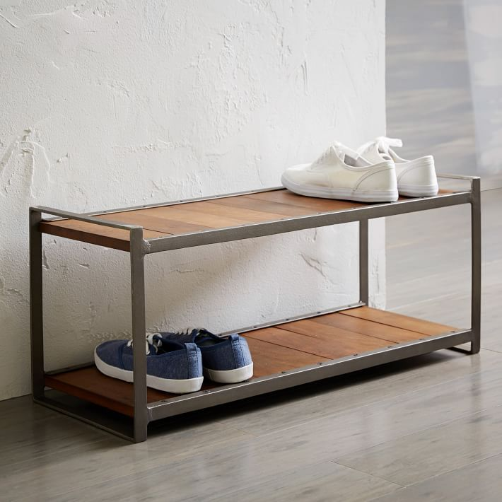 Industrial shoe rack