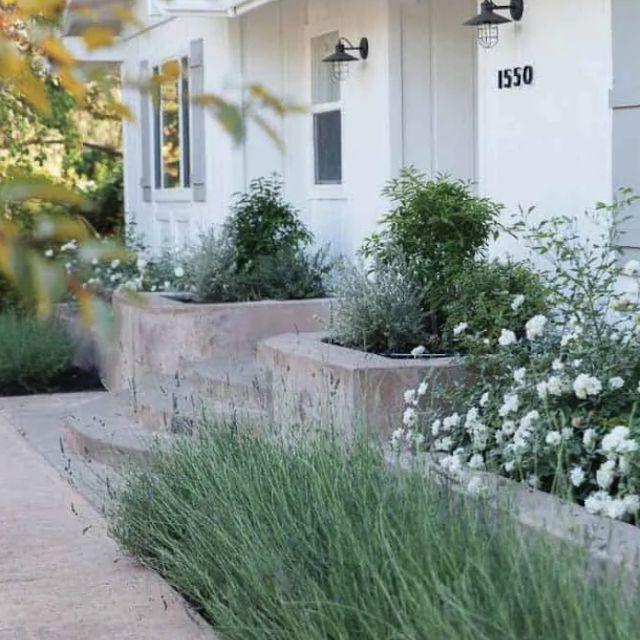 front yard raised garden bed