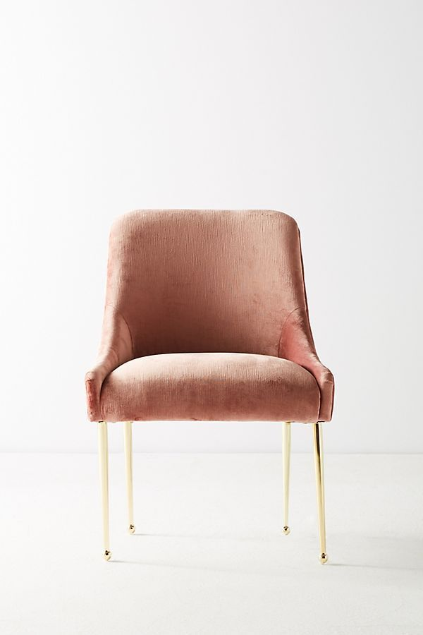 Slub Velvet Elowen Chair