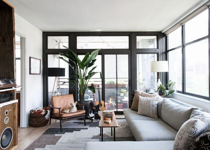 Ideas de iluminación de la sala de estar del apartamento
