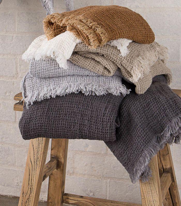 Hale Mercantile Co. Flocca Linen Face Towel