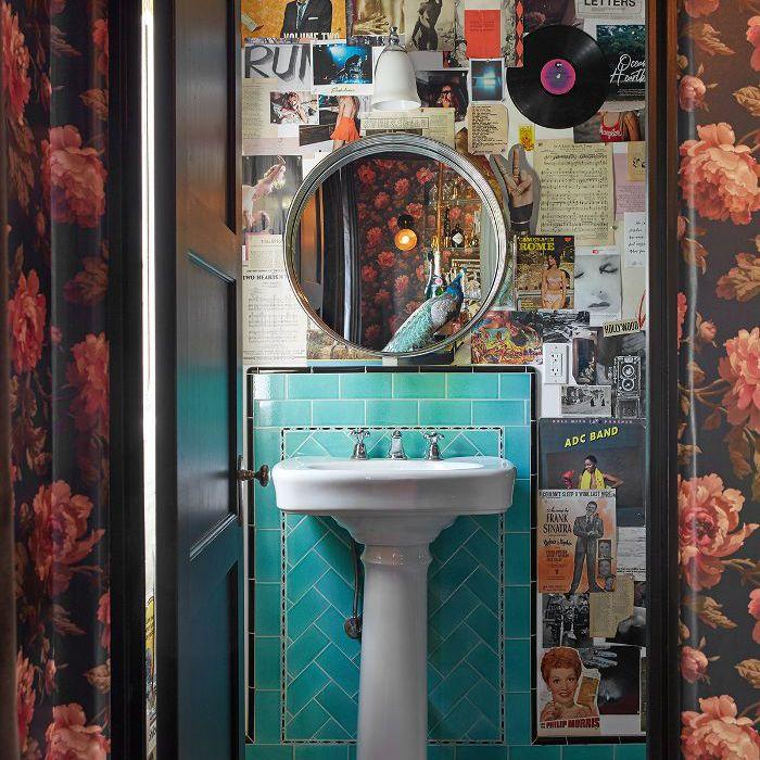 Shay Mitchell—bathroom design