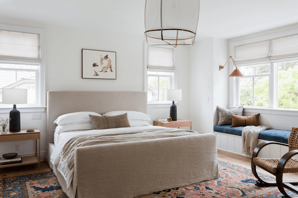 favorite home products april - soothing bedroom with window seat