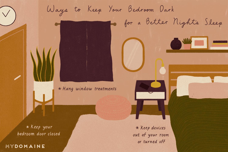 How to Keep Your Bedroom Dark