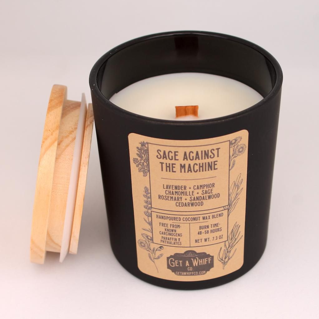 Get a Whiff Co. Sage Against the Machine Candle