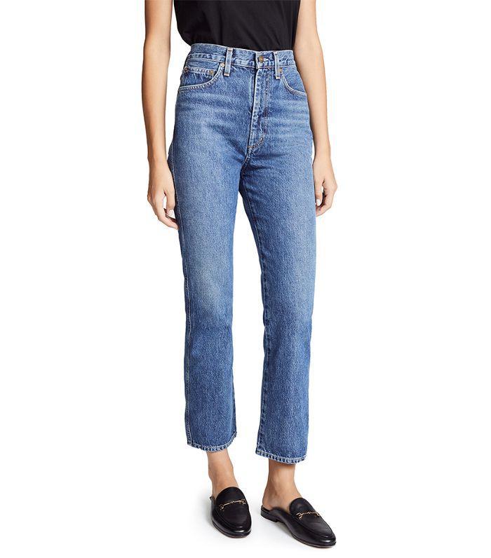 Pinch Waist Jeans