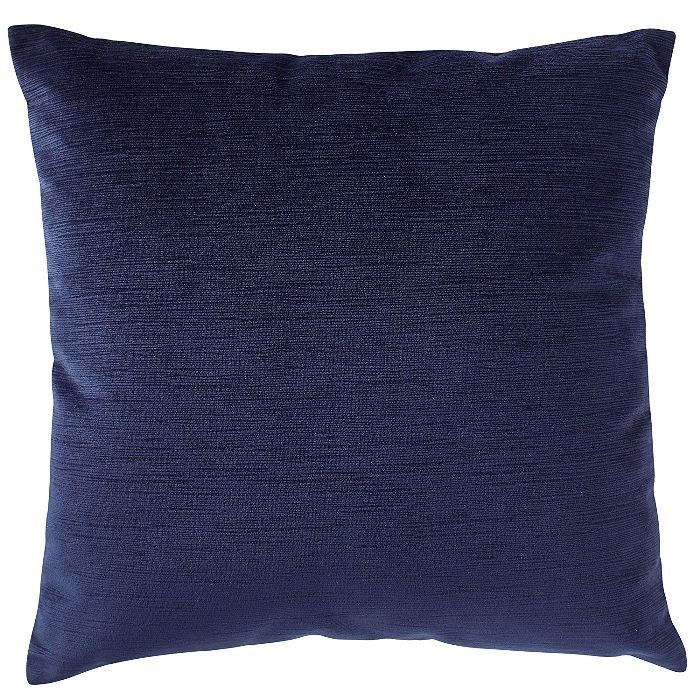 Stone & Beam Striated Velvet/Linen-Look Pillow
