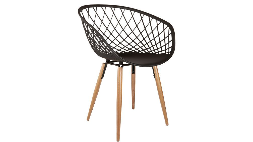 CB2 Sidera Crosshatch Chair