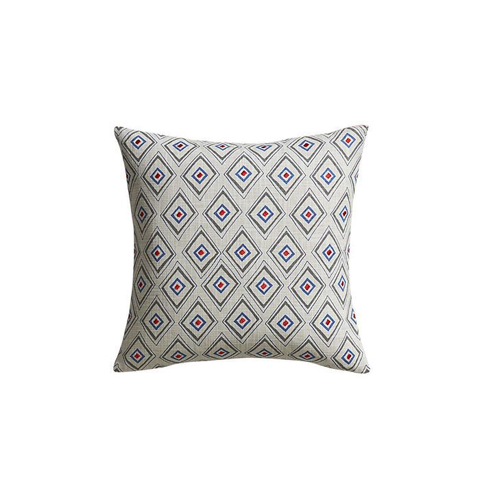 CB2 Redeye Embroidered Pillow