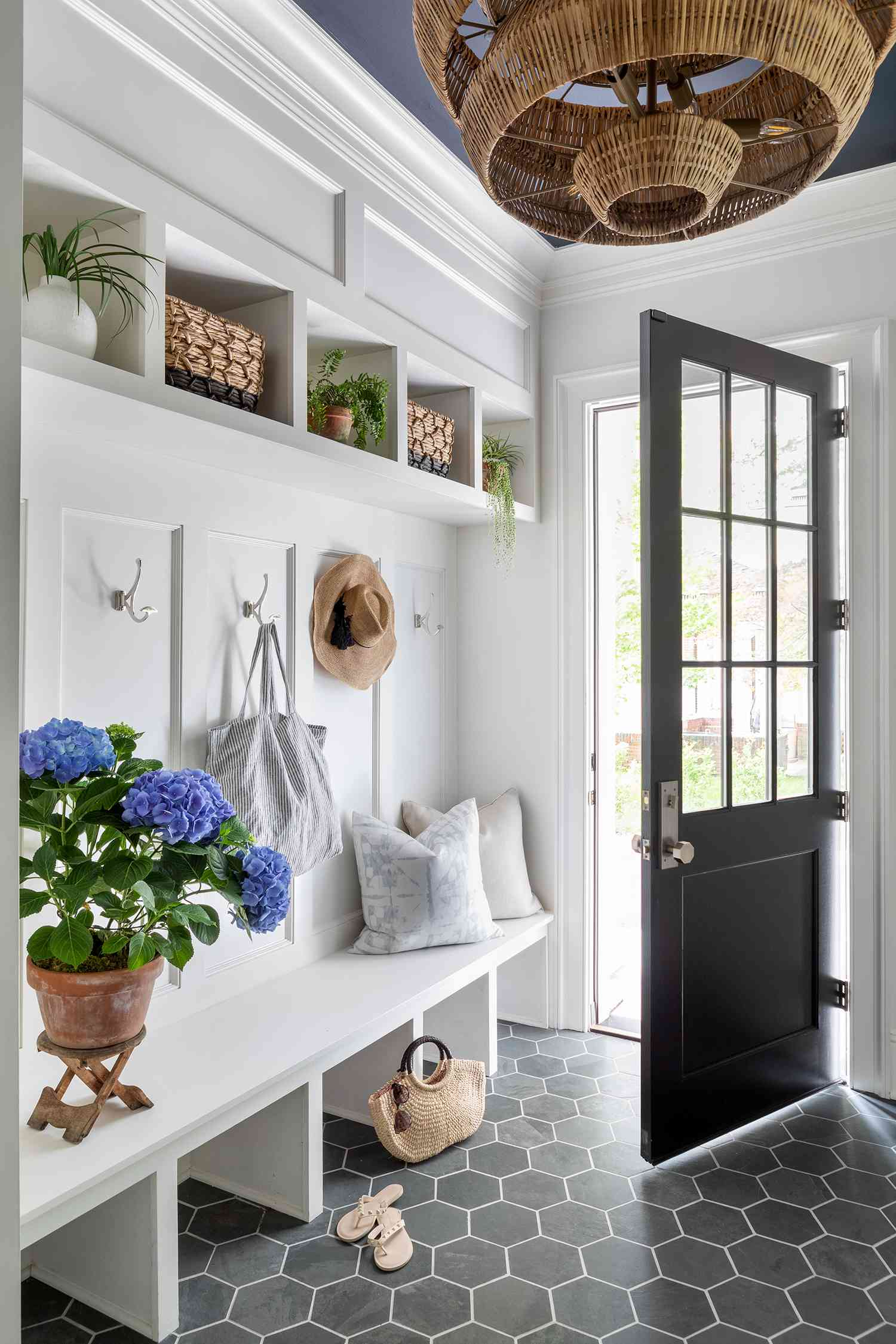new jersey home tour - mudroom