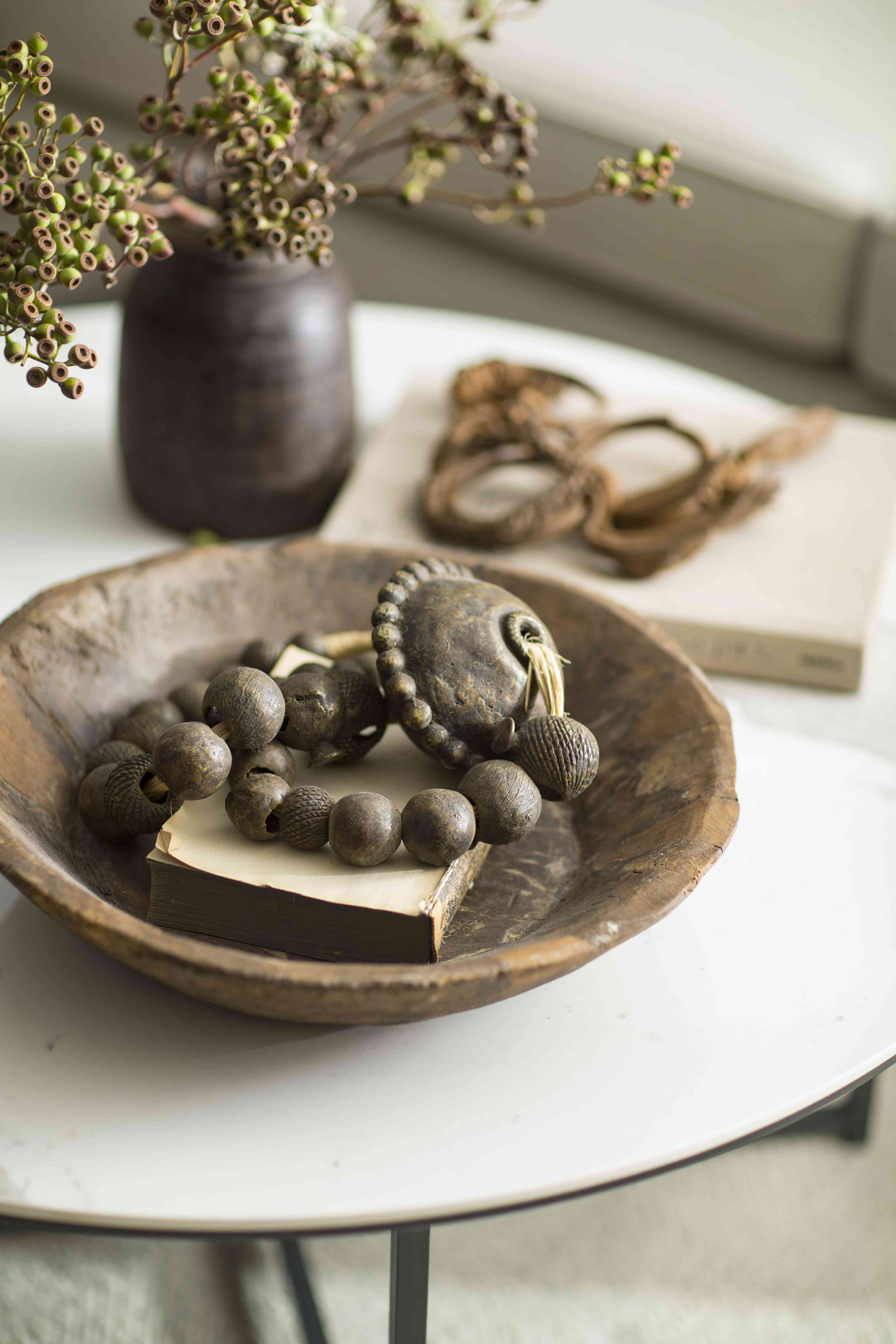 Objects in bowl