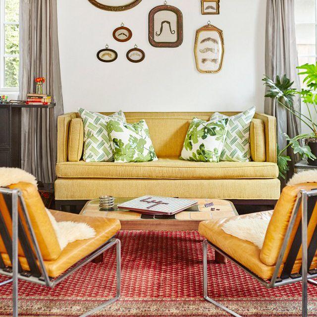 Constance Zimmer—living room ideas