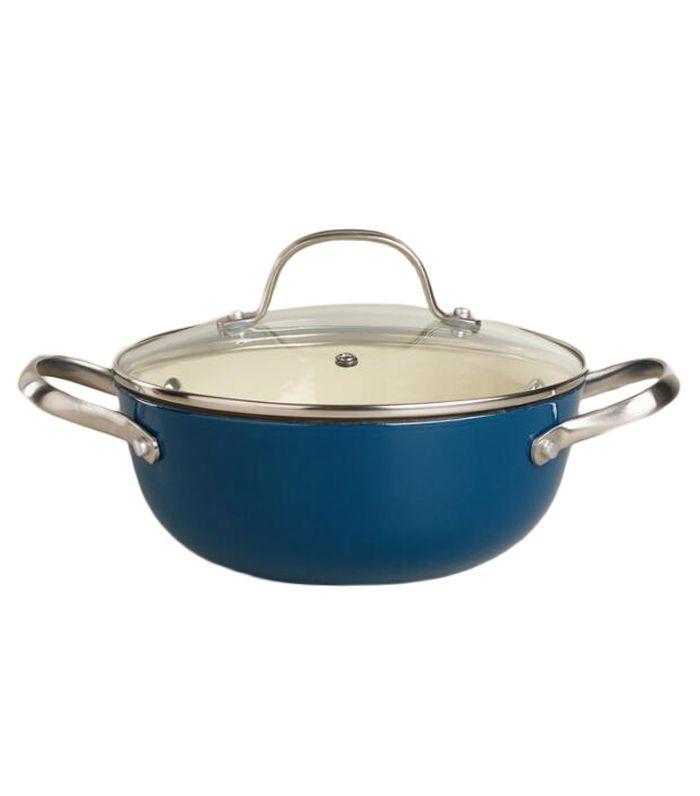 Sapphire Lightweight Cast Iron Soup Pot by World Market