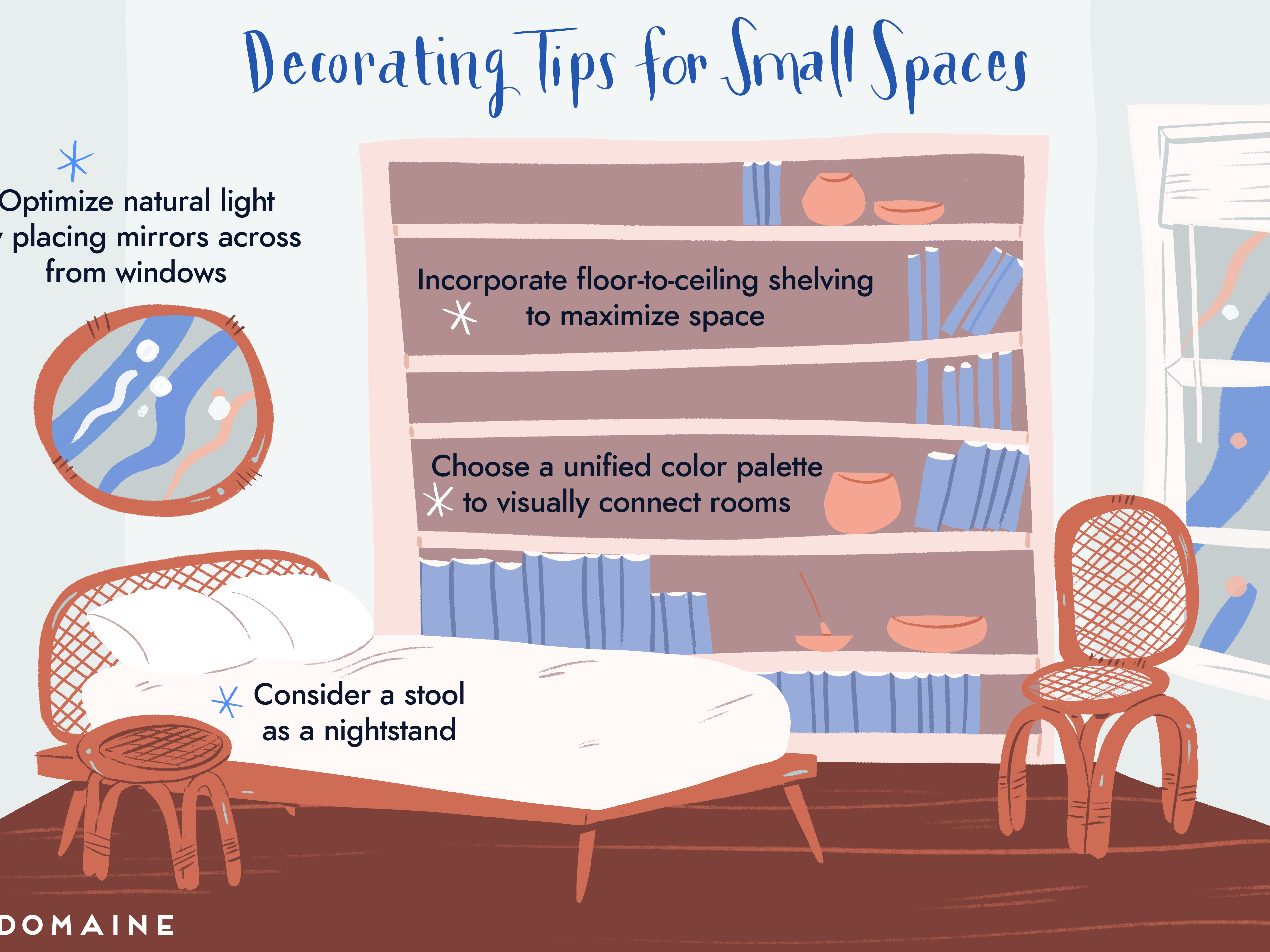 20 Mistakes To Avoid When Decorating Small Spaces